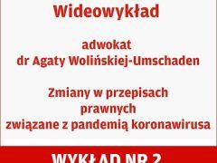 Wideowykład adwokat Agaty Wolińskiej-Umschaden, część 2
