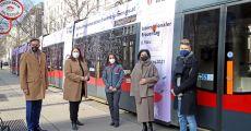 Frauentags-Straßenbahn ist ab heute auf Schiene