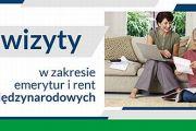 W ZUS ruszyły e-wizyty w zakresie emerytur i rent międzynarodowych.