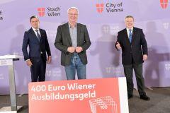 120 Millionen Euro für den Wiener Arbeitsmarkt – Ausbildung muss leistbar sein