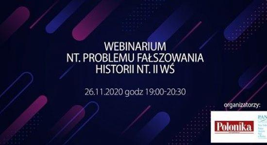Webinarium: fałszowanie prawdy nt. II wojny światowej