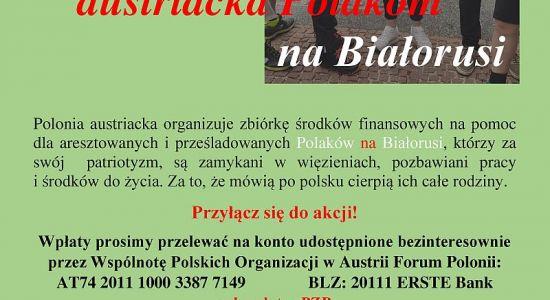 Pomoc dla Polaków na Białorusi