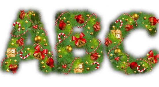 Alfabet świąteczny