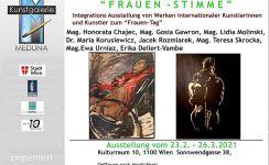 Galerie Meduna: Frauen-Stimme