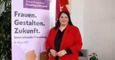 """Vizebürgermeisterin Gaal lädt zum Online-Frauentag unter dem Motto """"Frauen. Gestalten. Zukunft."""" am 8.3. ein"""