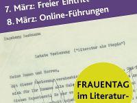 Frauentag im Literaturmuseum