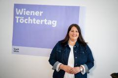 Vizebürgermeisterin Kathrin Gaal lädt am 22. April zum digitalen Wiener Töchtertag ein