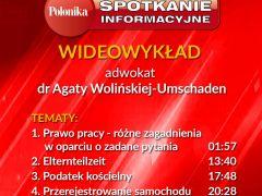 Wideowykład adwokat Agaty Wolińskiej-Umschaden, część 3