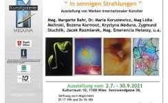 """Ausstellung """"In sonnigen Strahlungen"""""""